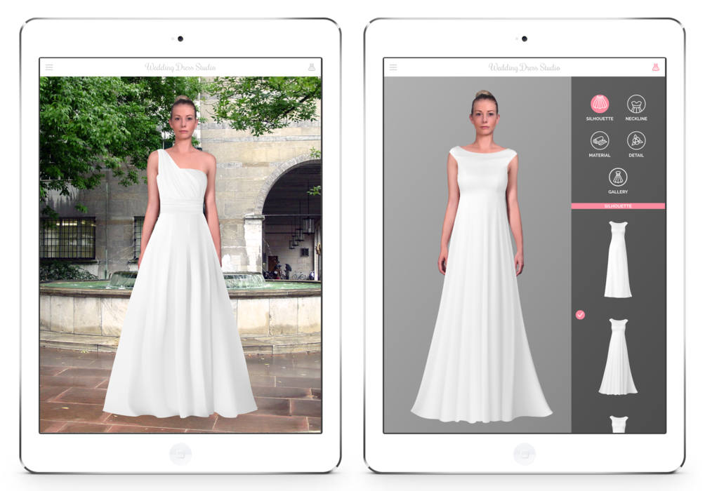 6 brands that will change the way we shop online forever for Design your own wedding dress game