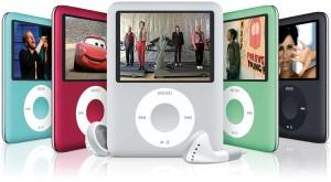 The iPod nano 3rd generation family [image via Flickrcc]