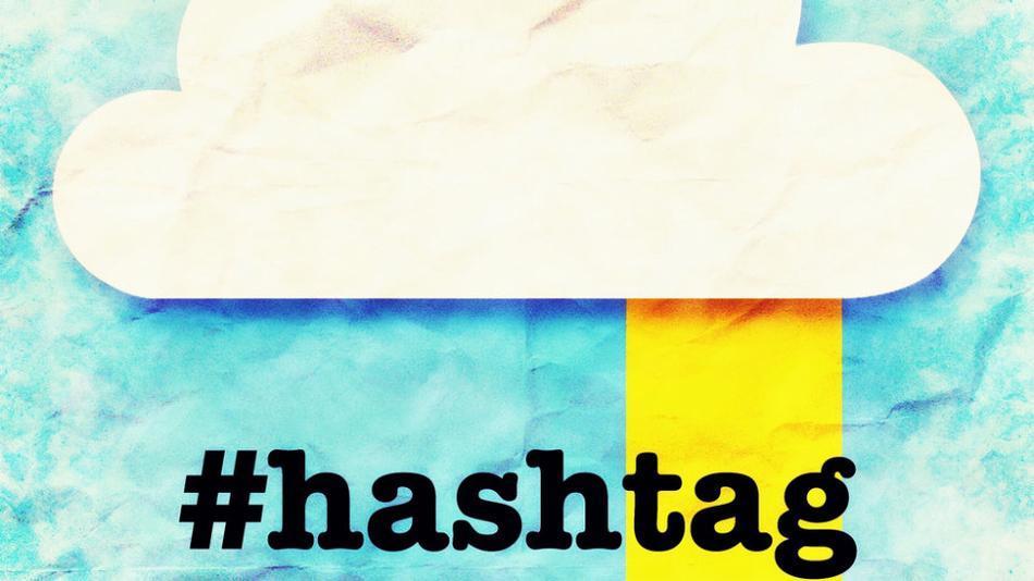 Hashtag-cloud
