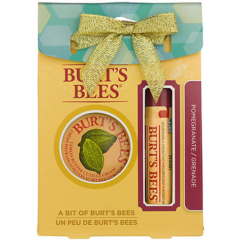 Burts Bees pomegranate kit
