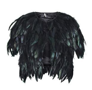 Topshop-feather-cape
