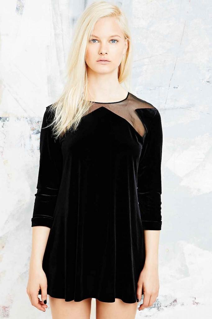 Velvet star dress