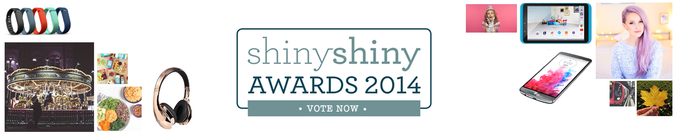 ShinyShiny Awards 2014 - Vote Now!