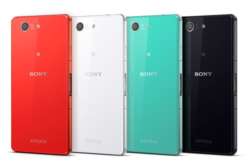 Sony Xperia Z3 Compact colours