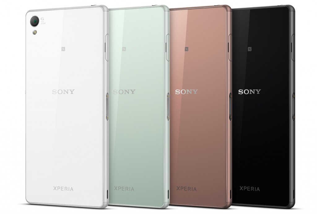 Sony Xperia Z3 colours
