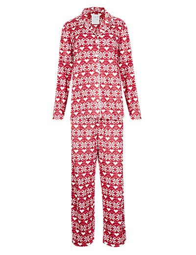 M&S Fair Isle pyjamas