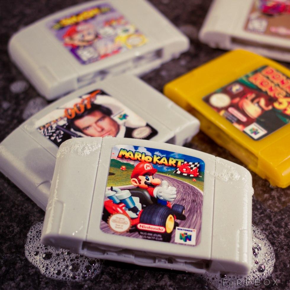 Nintendo 64 soap