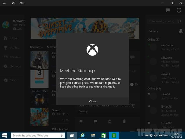 windows-10-xbox-app