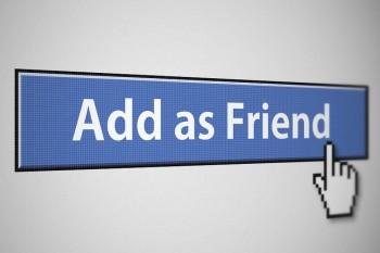 Facebook add as a friend