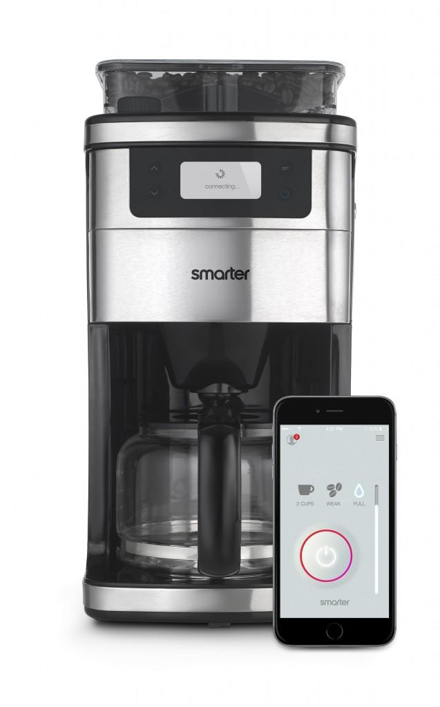 First Espresso Coffe Maker ~ Firebox launches the world s first wifi coffee machine