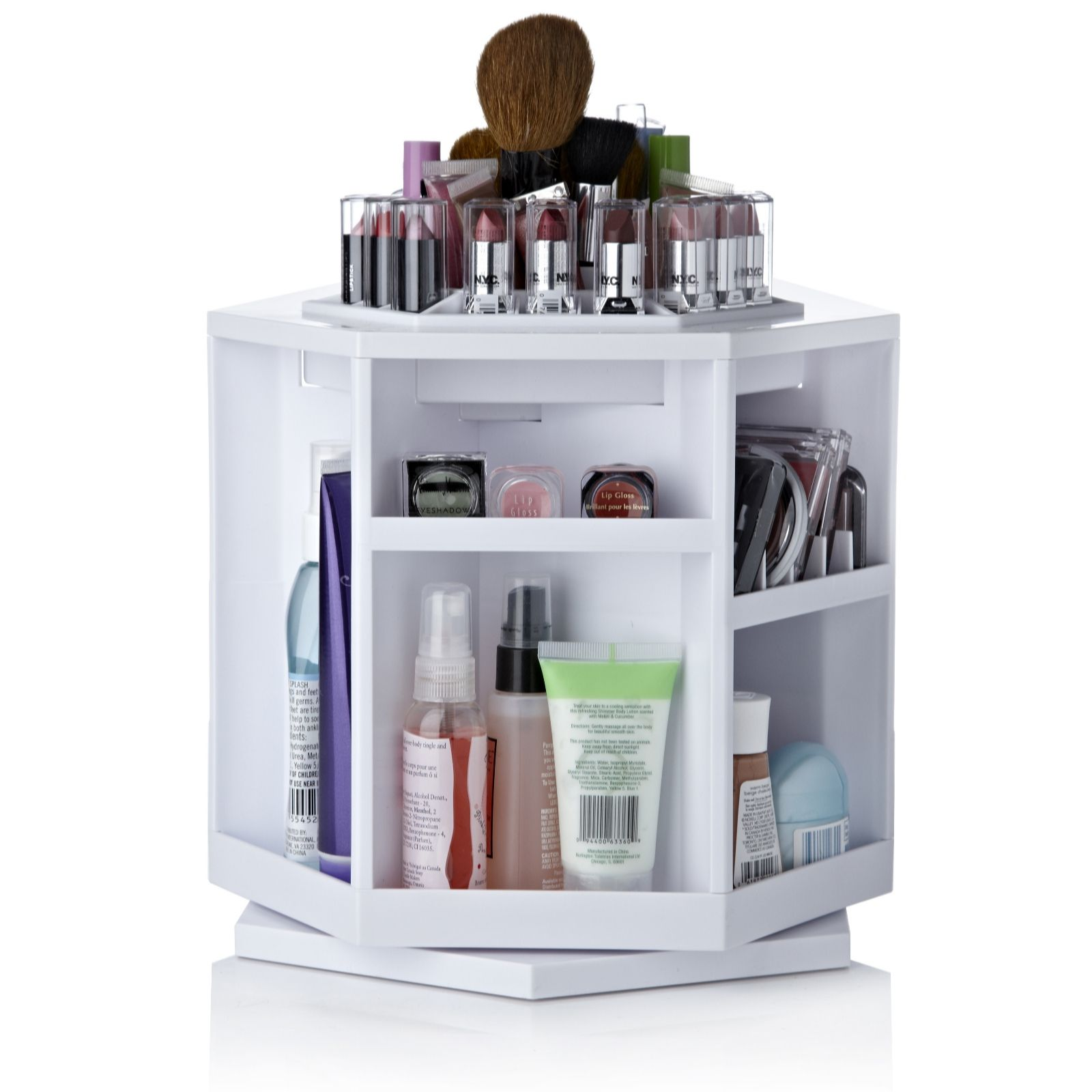 5 super handy makeup storage ideas shinyshiny - Rangement maquillage acrylique pas cher ...