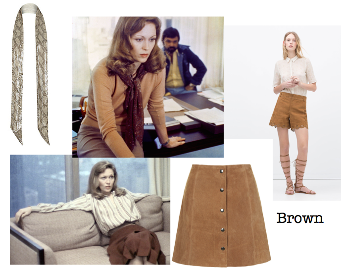 Brown fashion and Network stills
