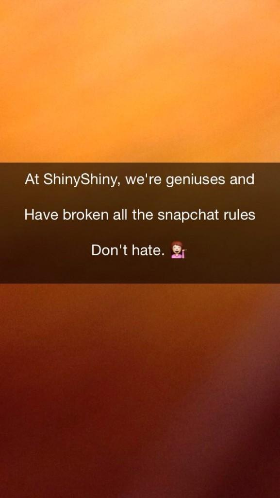 snapchat multi line caption