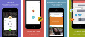Masque is a new anonymous dating app.