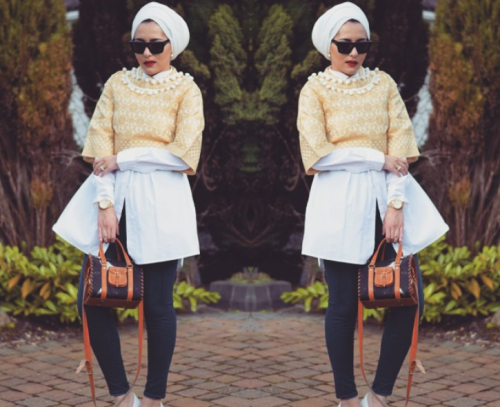 Blogger turned designer Dina Torkia.