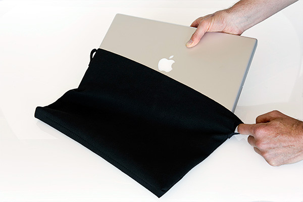 Waterfield suede MacBook jacket