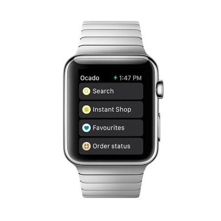 Apple Watch apps: Ocado.