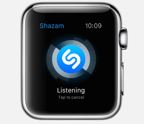 Apple Watch apps: Shazam.