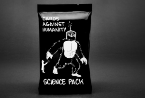 Cards Against Humanity's new science pack will fund a scholarship for women in STEM.