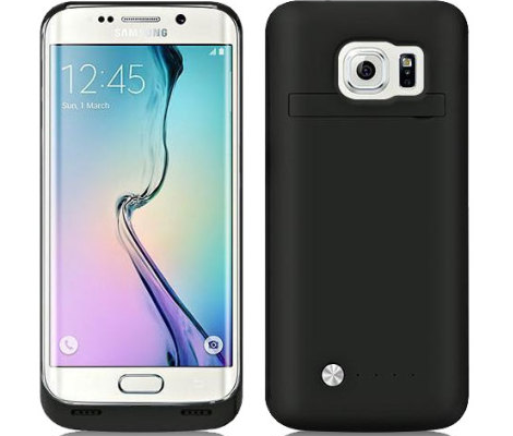 Samsung Galaxy S6 Edge Power Bank case.
