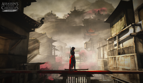 Games with a female protagonist: Assassin's Creed Chronicles: China.
