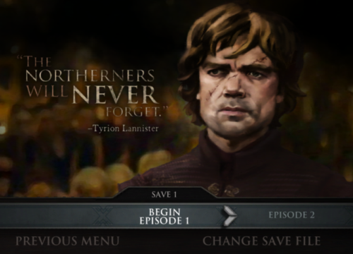 Interesting apps for when you're bored: Game of Thrones.