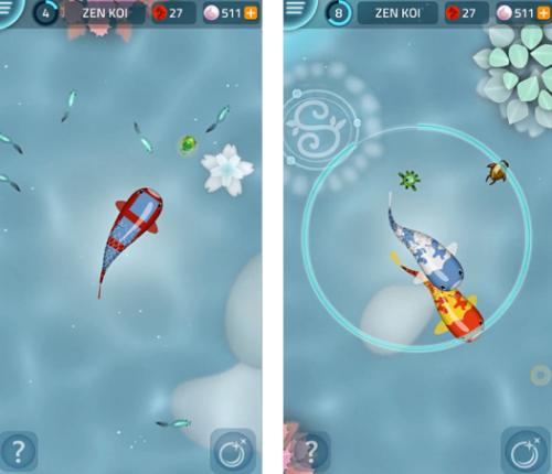 New iPhone games: Zen Koi.