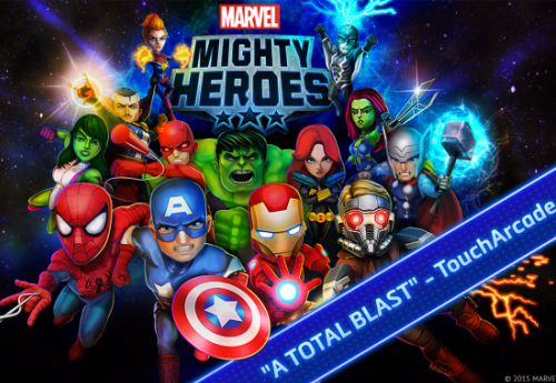 New Android games: Marvel Mighty Heroes.