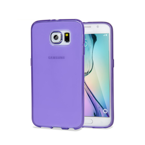 Olixar Flexishield Galaxy Samsung S6 Edge case.