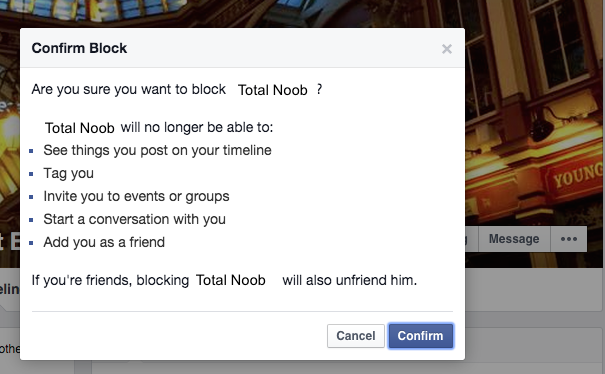 Facebook block alt step 2