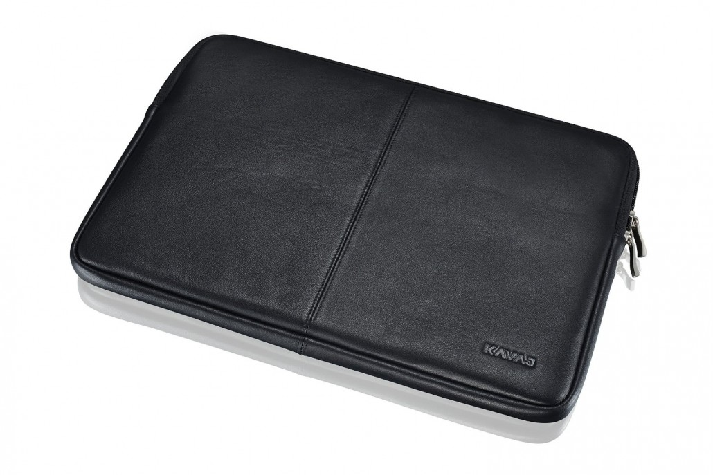 Leather MacBook 12 sleeve