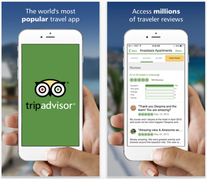 10 Essential apps for travel and holidays: Airbnb, Localeur, Yelp