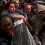 Will we see a repeat of these scenes as shoppers fought over flat screen TVs in 2014