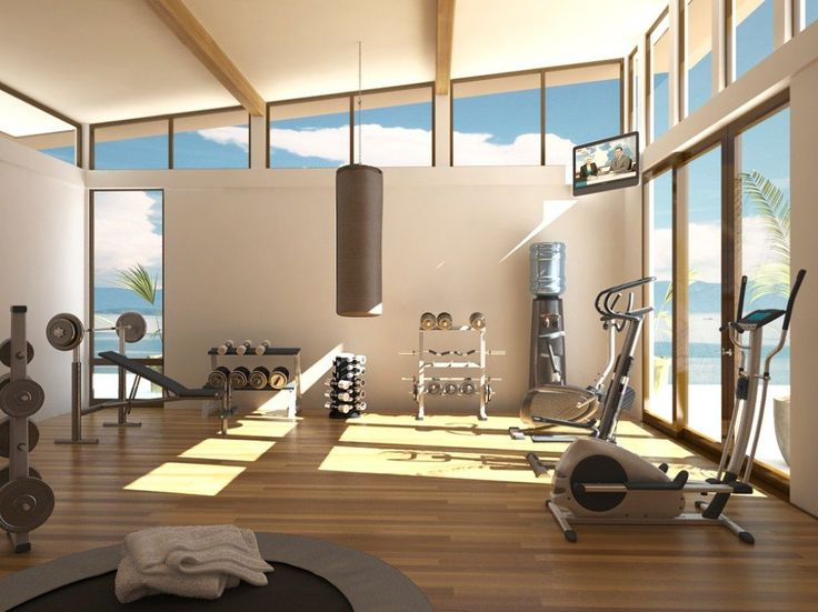 Creating your own home gym shinyshiny