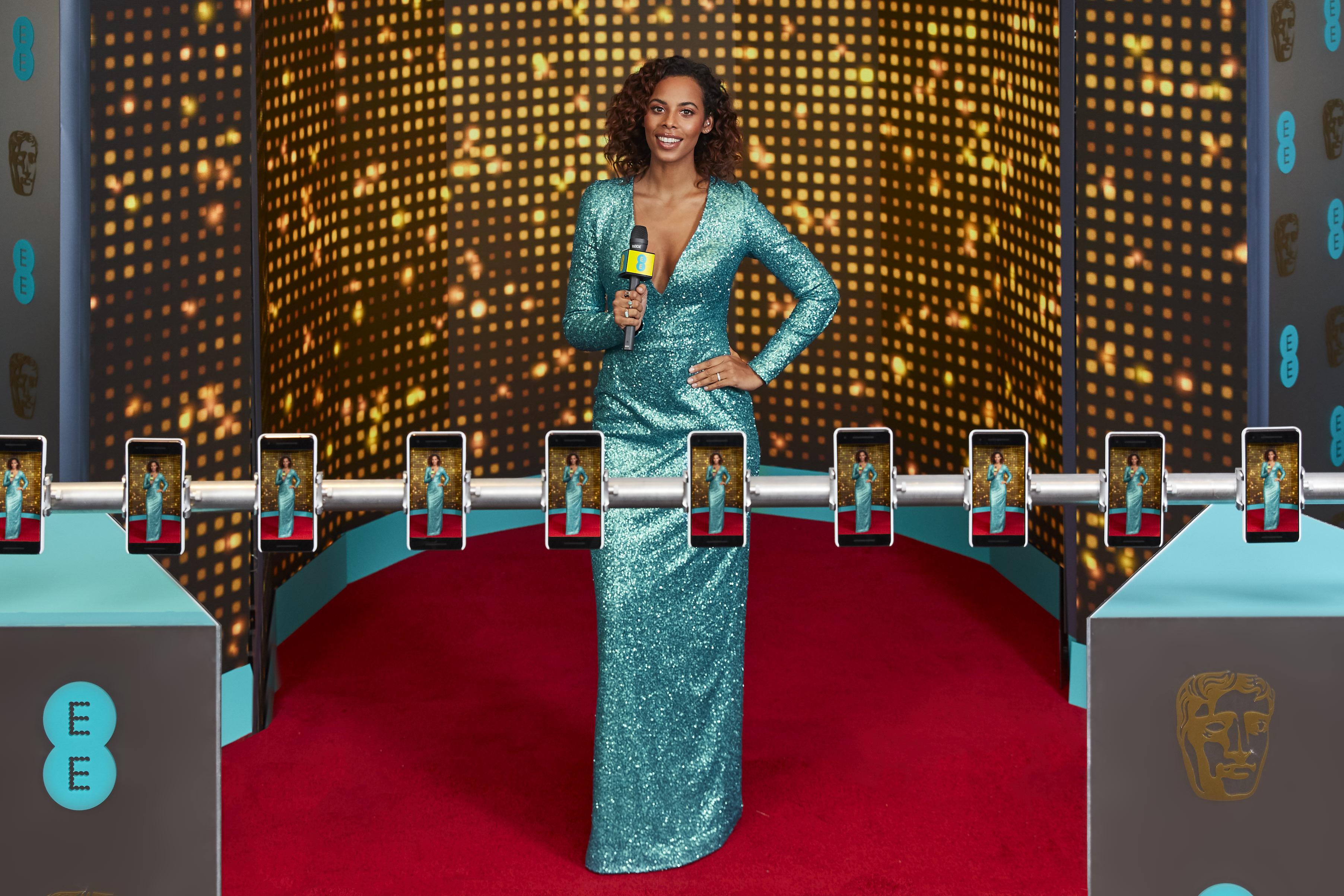 EEs BAFTA red carpet host Rochelle Humes (7).jpg