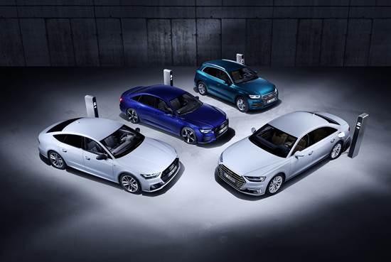Audi launches plug in hybrid models at next week's Geneva Motorshow