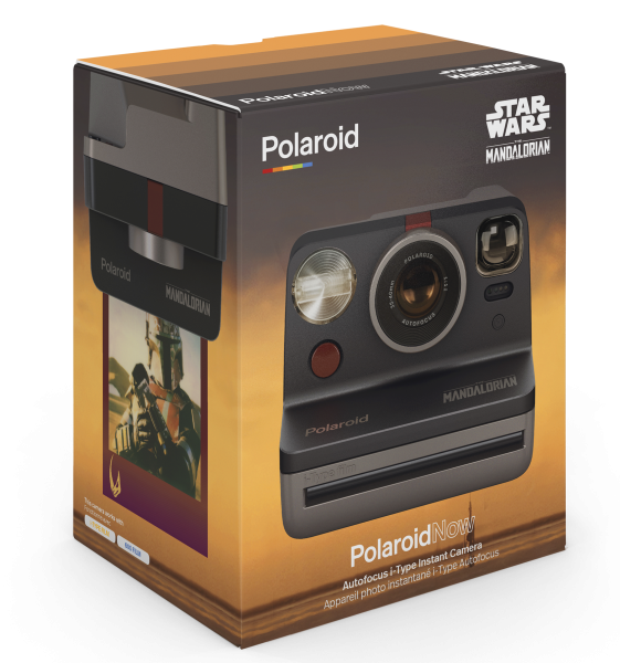 Polaroid Now: Mandalorian camera